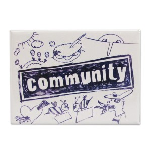 Community logo, from the title sequence.
