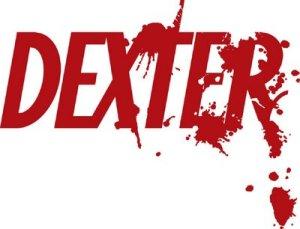 Dexter logo, in red.