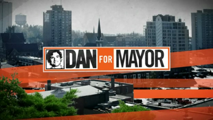 The Dan For Mayor logo