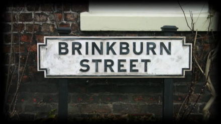 The 32 Brinkburn Street logo: a street sign declaring 'Brinkburn Street'.