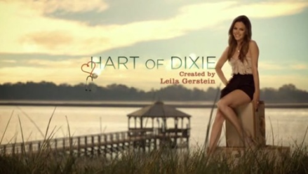 The Hart of Dixie title card