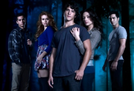 The cast of Teen Wolf.