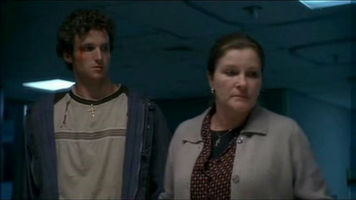 Billy Lush as Kevin Donnelly and Kate Mulgrew as Helen Donnelly.
